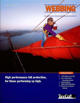 TapeCraft Safety Industry Fall Protection Lanyard Flyer