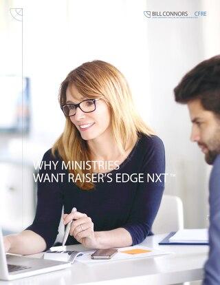 Why Ministries Want Raiser's Edge NXT