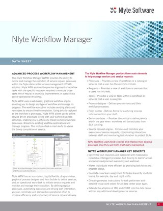 Nlyte_Workflow_Manager_Data_Sheet