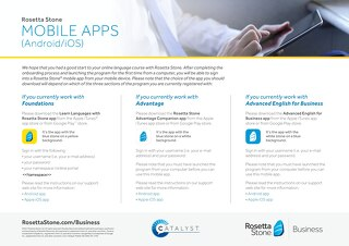 Mobile Apps Guide