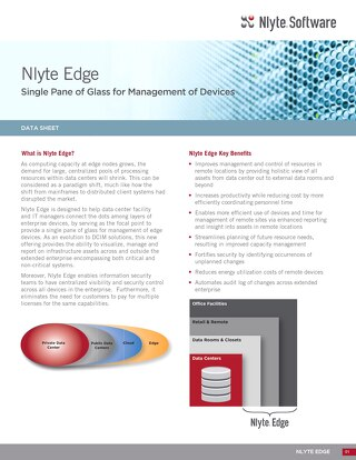 Nlyte Edge Data Sheet
