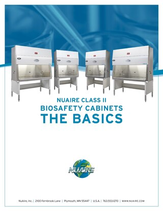 [ebook] Class II Biosafety Cabinets, The Basics