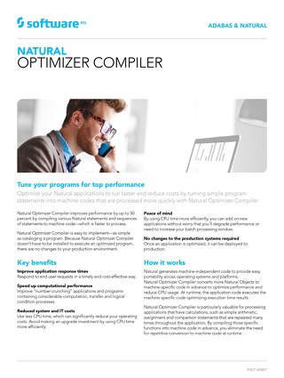 Facts about Natural Optimizer Compiler