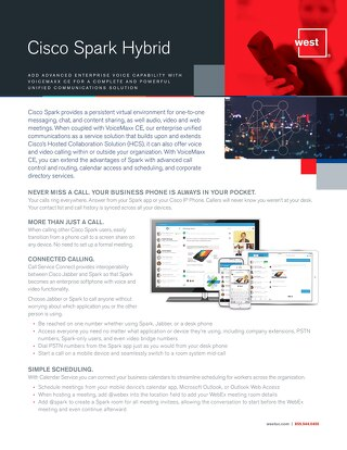 Cisco Spark Hybrid Overview
