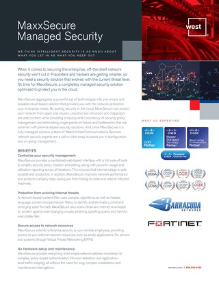 MaxxSecure Overview