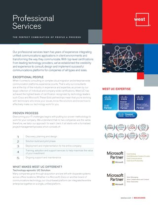 UC Professional Services Overview
