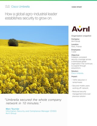 Avril Group Customer Story