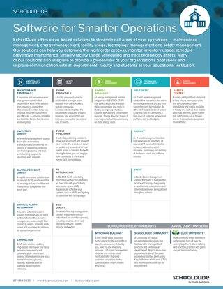 Education Products Datasheet