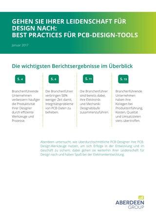 GEHEN SIE IHRER LEIDENSCHAFT FÜR DESIGN NACH: BEST PRACTICES FÜR PCB-DESIGN-TOOLS