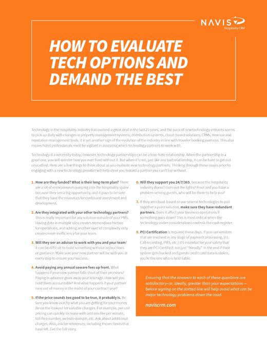 Top Questions to Ask A Potential Technology Vendor