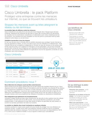 Cisco Umbrella : le pack Platform