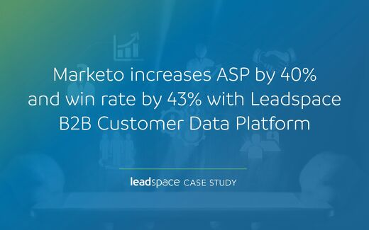Marketo Increases ASP & Win-Rate by Over 40% Using Leadspace