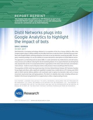 Distil Networks Plugs into GA