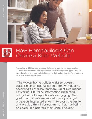 How Homebuilders Can Create A Killer Website