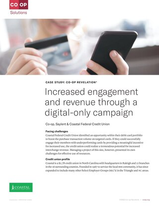 Coastal FCU Increases Debit Card Engagement & Revenue