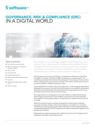 GRC in a digital world