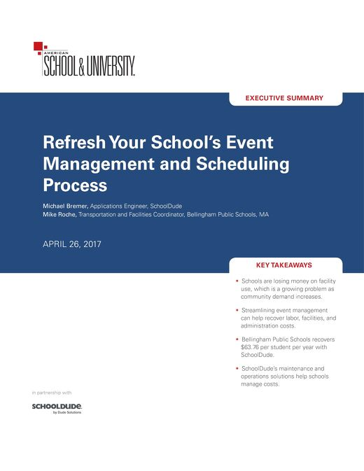Refresh Your School's Event Management and Scheduling Process