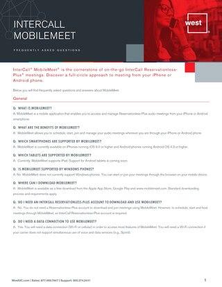 MobileMeet-FAQS