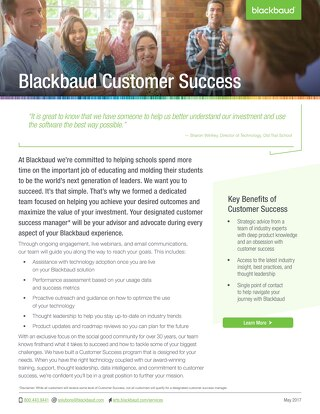 Blackbaud Customer Success