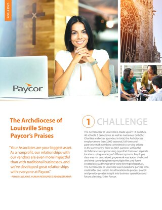 Case Study: Archdiocese of Louisville