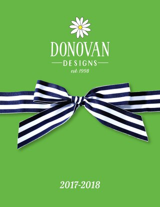 Donovan Designs Catalog 2017-2018