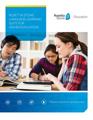 Language Learning Suite for Higher Education