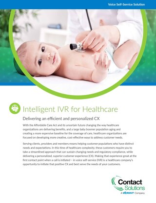 Intelligent IVR for Healthcare