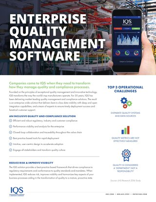 IQS Overview Brochure