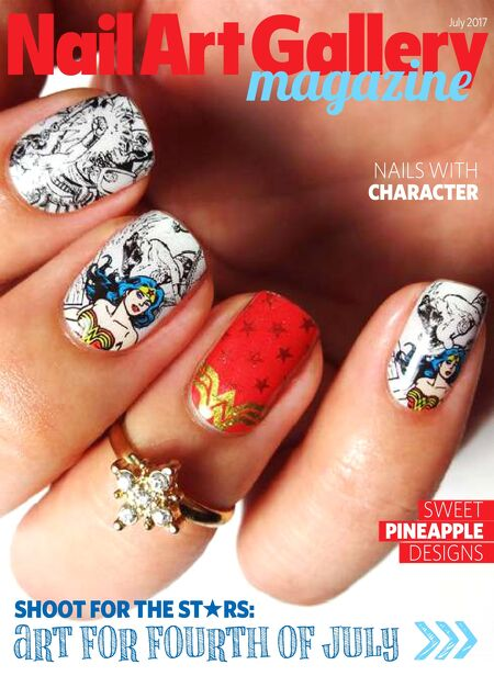 Nail Art Gallery Magazine Jul 2017