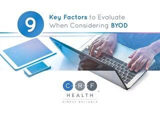 9 Key Factors to Evaluate When Considering BYOD