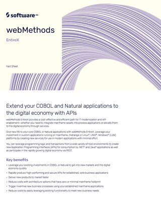 webMethods EntireX
