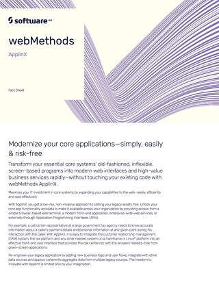 webMethods ApplinX