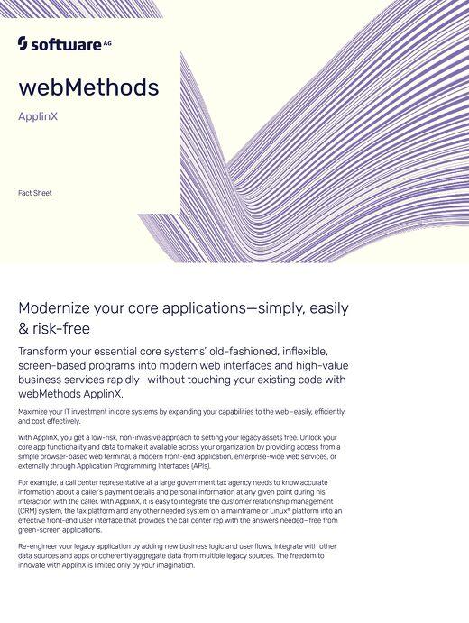 webMethods ApplinX