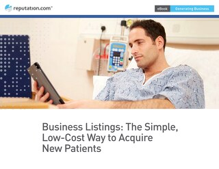 Business Listings: The New Low-cost Way to Attract Patients