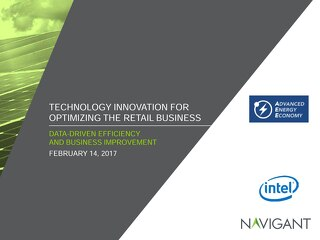 Technology Innovation for Optimizing the Retail Business