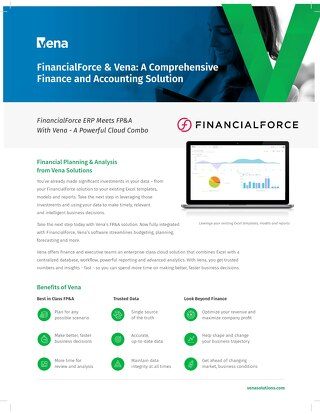 Vena and FinancialForce