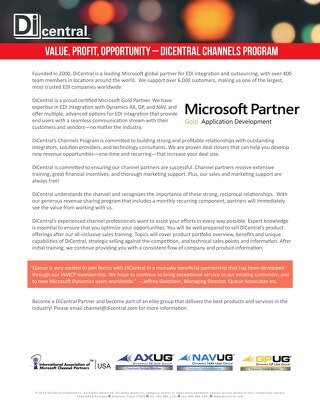 Channels Microsoft Brochure