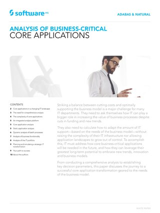 Analysis of Business-Critical Core Applications