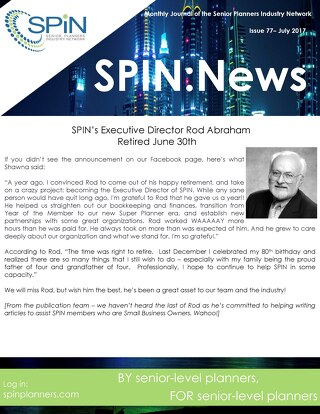 July 2017 SPIN News