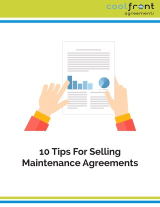 10 Tips for Selling MaintenanceAgreements