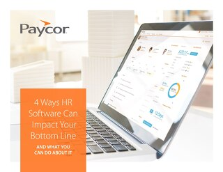 4 Ways HR Software Can Impact Your Bottom Line