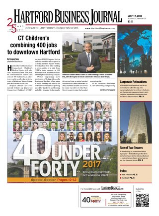 40 Under Forty awards — July 17, 2017