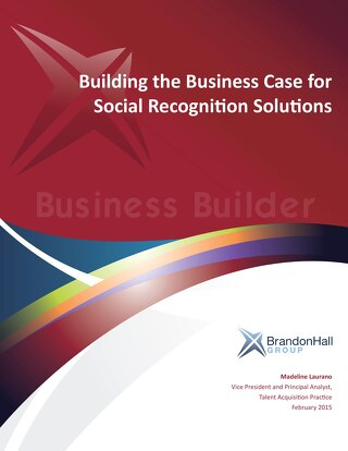 Building the Business Case for Social Recognition Solutions