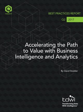 Accelerating the Path to Value - TDWI Best Practices Report