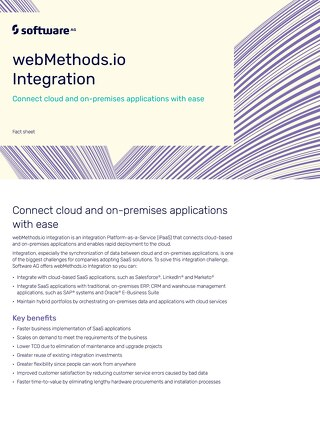 Facts about webMethods Integration Cloud