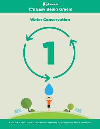 It's Easy Being Green: Water Conservation
