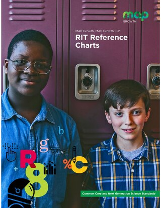 MAP Growth RIT Reference Charts (Common Core)