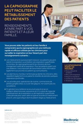 Affiche d'information au patient