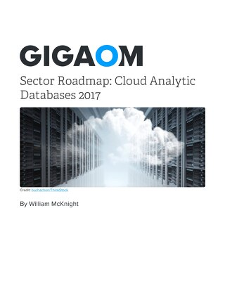 Gigaom Sector Roadmap: Cloud Analytic Databases 2017