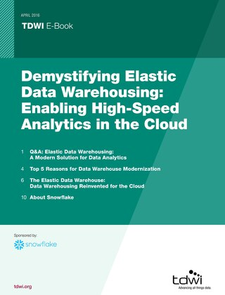 Demystifying Elastic Data Warehousing: Enabling High-Speed Analytics in the Cloud